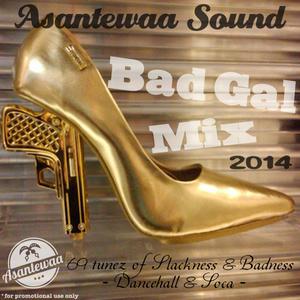 Asantewaa Sound - BAD GAL MIX 2014