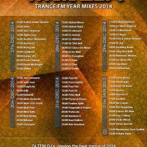 Kristof3R Pres. Digital Incomings - Trance.fm Yearmix 2014