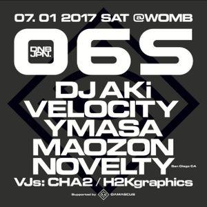 DJ 34 07-01-2017 WOMB 06S-AZURIA Party Set