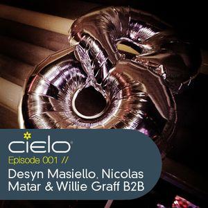 Episode 001 - Desyn Masiello, Nicolas Matar & Willie Graff B2B during our 8th Anniversary Party