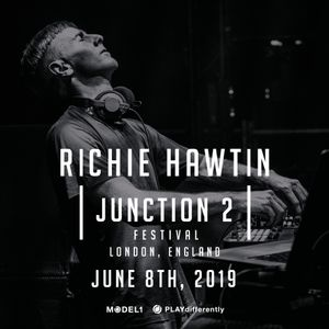 Richie Hawtin - Junction 2 - London, UK 08.06.2019