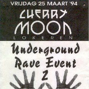 "Resident DJ Team (part 2) at ""Underground Rave Event II"" at Cherry Moon (Lokeren) - 25 March 1994"