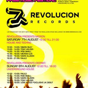 MARK ELLISON (Revolucion Records) Live @ TODSTOCK 2010