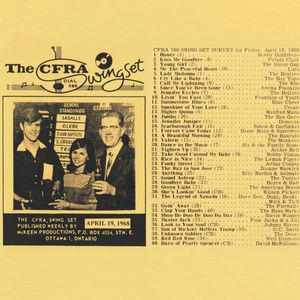 Ottawa Top 40 Chart, April 19, 1968