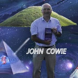 """john Cowie author of the book """"Silbury Dawning. The Alien Visitor Gene Theory"""