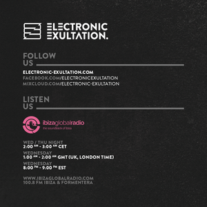 Electronic Exultation 075-Ibiza Global Radio-08-06-2016-Mixed By Nathan Pole