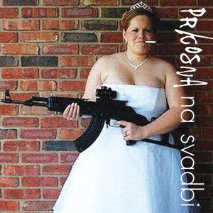 Prkosna na svadbi!