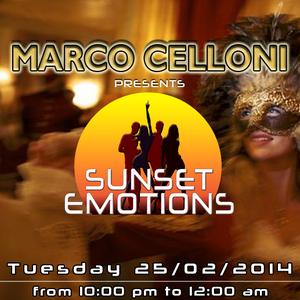 SUNSET EMOTIONS 76.4 (25/02/2014)