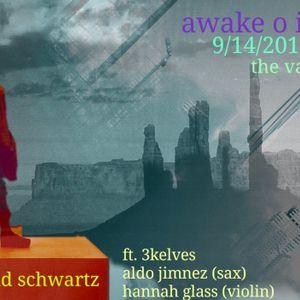 awakeoinnerlife.wk5. with David Schwartz, Aldo Jimnez (Sax)