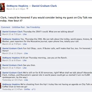 """Dan Clark on 'City Talk' with Mayor DeWayne Hopkins"""