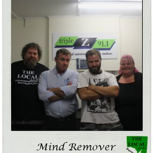 Interview with Mind Remover 24 March 2016 on The Local - SA
