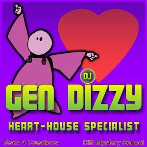 Gen Dizzy - Deep Tech 432Hz DJ Mix 09-28-11