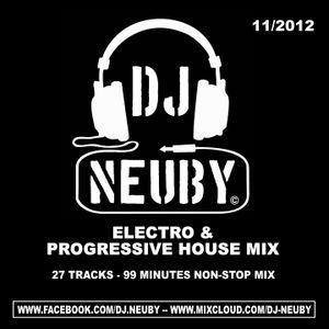 DJ Neuby -Electro & Progressive House Mix - 11.2012