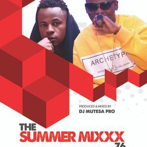 Summer Mixxx Vol 76 (Dj Mutesa Pro)