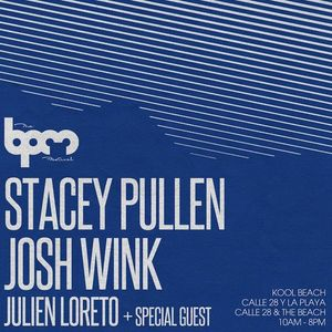 Josh Wink - Live at BPM Festival 2013, Kool Beach Club, Playa Del Carmen (06-01-2013)