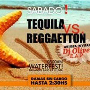 """DJ Oliver - Reggaeton SET Muelle05 """"Tequila VS Reggaeton"""" (14-1-2017)"""