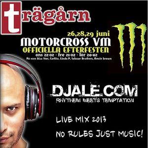 No Rules Just Music - DjAle.com @ Trägårn Motorcross VM Live Mix 2013 _PN