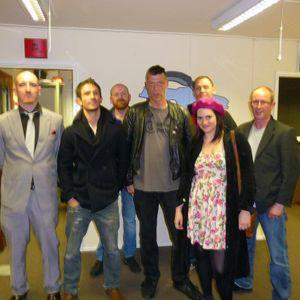 Tony Thornborough, aaak, The Black Knights, Mr Heart, Jon Coupe and John Herring ON Salford City rAD