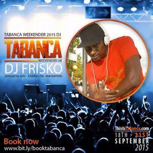 THE LUNCHBOX SESSION WITH MR FRISKO On www.juvenilefm.com Trinidad Fantastic Friday Edition 2015