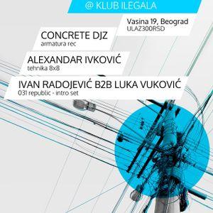 Davor Petrovic @ Edit-Tehno Klub Ilegala 09.02.2013