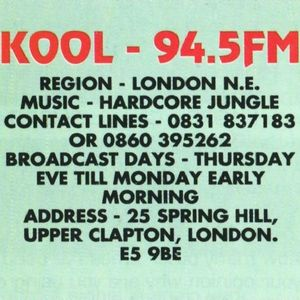 Bryan Gee - Kool 94.5 FM - 12th May 1996