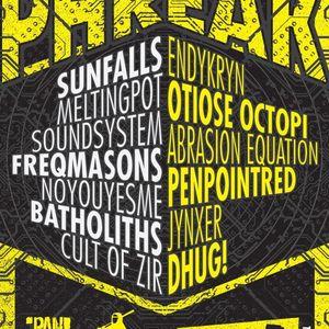 "Dhug! live @ ""PHREAK"" a PAN!ZEN/Reactionary collaboration @ Plan B in Portland, OR - July 11th 2012"