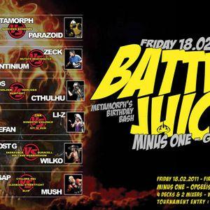 Stefan ZMK vs Li-Z HnR - Battle Juice 4dexmix 2011 [acid|hardtechno|tekno]