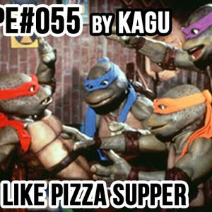 #MIXTAPE055 - Red Hot Like Pizza Supper by KAGU