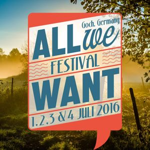 Ernesto Altes - All We Want Festival 2016