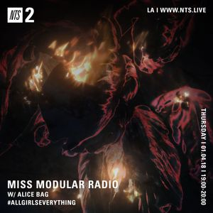 Miss Modular w/ Alice Bag - 4th January 2018