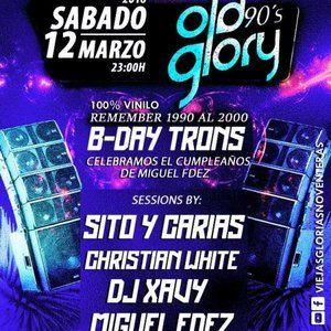 DJ Miguel & DJ Xavy (Cierre) @ Old Glory 90's (Alcalá de Henares, Madrid) 12.03.2016