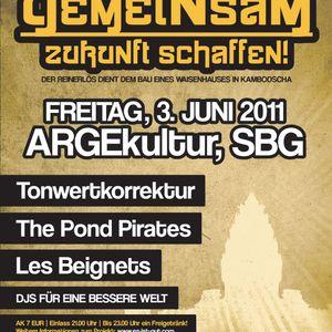 """Liveset - """"Gemeinsam Zukunft schaffen"""" @ ARGEkultur (Salzburg/AT)"""