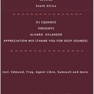 DJCquence Presents Alvaro Hylander Appreciation Mix(Thank You For Deep Sounds).