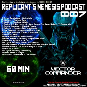 Dj Alex Strunz aka Vector Commander @ REPLICANT^S NEMESIS PODCAST 007 - 04-02-2019