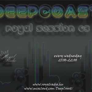 DeepCoast - Royal Session 03 @ Royal Radio (2011-03-09)