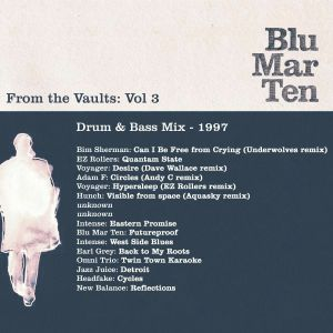 From the Vaults Vol 3 – Drum & Bass Mix: 1997