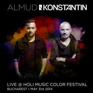 Almud & Konstantin live @ HOLI Music Color Festival (Bucharest - May 31st 2014)