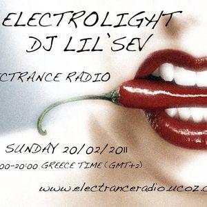 ELECTROLIGHT EPISODE 3 PART 2 ELECTRANCE RADIO DJ LIL'SEV TAYLORMAD-TRAX