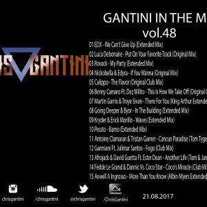 GANTINI IN THE MIX Vol.48