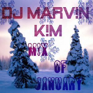 DJ MARV!N K!M - Mix Of January 2013 + Download-Link