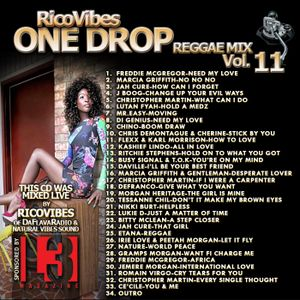 RICOVIBES ONE DROP REGGAE MIX VOL. 11