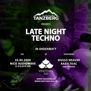 Rasti Tkac - Late Night Techno by Tanzberg @ Vinothek 1620, Andermatt, Switzerland [2020 02 22]