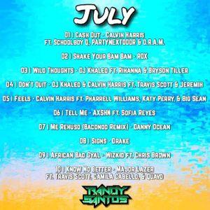 JULY 2017 CHARTS