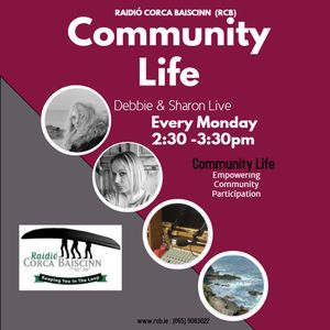 Community Life - Debbie  and Sharon with Guests