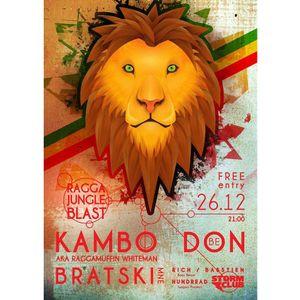 Kambo Don at Storm Club Prague 26-12-2014