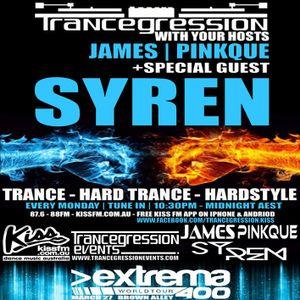 James on Trancegression 372 Kiss FM Dance Music Australia 23/2/15