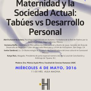 Maternidad y Sociedad Actual: Tabues Vs Desarrollo Personal