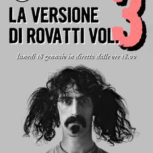Vertigo - La versione di Rovatti vol.3 - diretta lunedì 18 gennaio 2016 Radio Antenna 1 FM 101.3