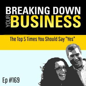 """The Top 5 Times You Should Say """"Yes"""" w/ Amanda Neely"""