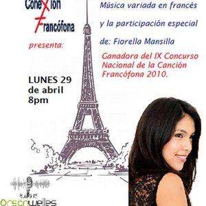 Lo mejor del 2013: Conexión Francófona abril 2013 - Música Variada. Invitada: Fiorella Mansilla